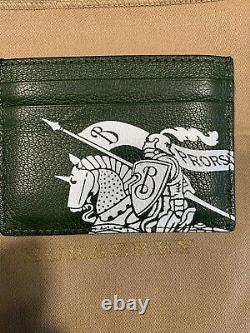 Authentic Burberry Leather Card Holder Wallet