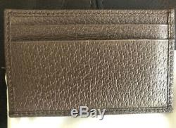 Authentic GUCCI Supreme Mens Womens Unisex Wallet Card Holder GG