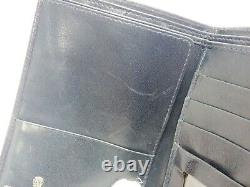 Authentic GUCCI Wallet Old Bifold Navy