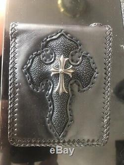 Chrome Hearts Leather Wallet