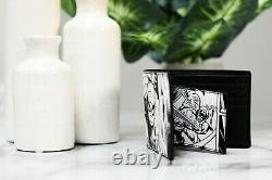 Coach 3 in 1 Marvel Spiderman 1837 Comic Print Leather Billfold ID Holder Wallet