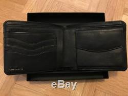 Dries Van Noten Leather / Tapestry Fabric Wallet SS17