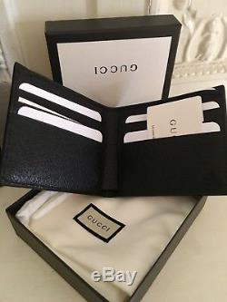 GUCCI new leather wallet mens
