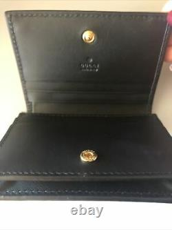 Gucci GG Supreme Bee Card Case Wallet