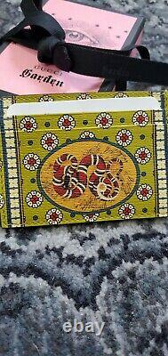 Gucci Garden EXCLUSIVE from Florence, Italy Gucci snake-design cardholder