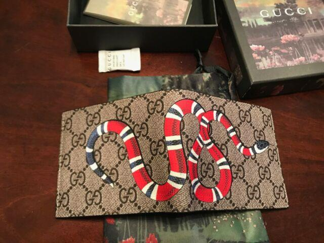 Gucci Kingsnake Wallet Pre-owned Mint Condition King Snake Authentic 451268