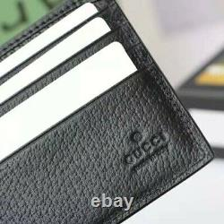Gucci bi-fold leather wallet black new never used comes in dust bag