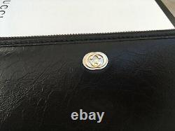 Gucci women wallet with Gold GG Long Man's Zip Wallet Made in Italy Genuine