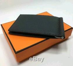ef318019c332 ... best price hermes mens classic black mc2 copernic compact bifold  billfold wallet france 92a0e e0a89 ...