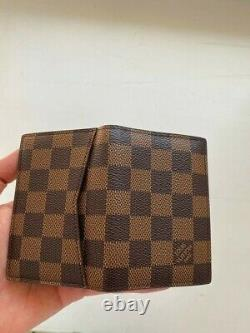 Louis Vuitton Business Card Holder Pocket Organizer Made in France