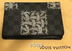 Louis Vuitton Mens Rope Graphite Damier Wallet Ltd Edition Sold Out New
