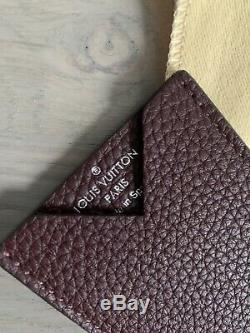 Louis Vuitton small card holder Pouch Leather size in photos 100% authentic rare