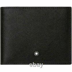 Mont Blanc 113215 Sartorial Mens Bifold Natural Cowhide Leather Wallet