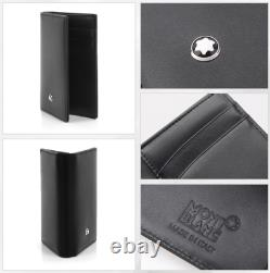 Mont Blanc 14108 Meisterstuck Business Card Holder Men's Small Leather Wallet
