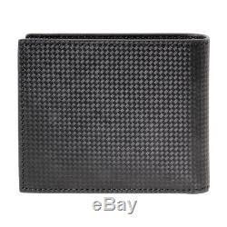 Montblanc Extreme Men's Small Leather Wallet 4CC with Coin Case 111281