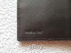 NEW Auth Burberry London Leather Continental Men wallet, NO tags
