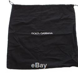 NWT $300 DOLCE & GABBANA Wallet Red Dauphine Leather Bifold Logo Card Holder