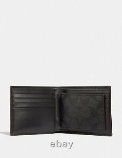 NWT COACH Boxed 3-In-1 Wallet Gift Set In Signature Canvas