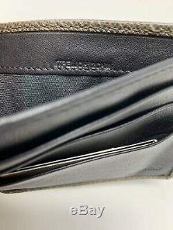New Burberry London Leather Hipfold Small Billfold Wallet Comes With Tags