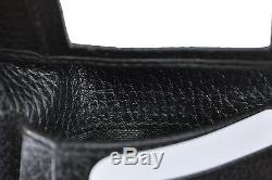 74f0a2ccb01 New Gucci 217044 Men s Black Leather Embossed Logo Trifold Passcase Id  Wallet
