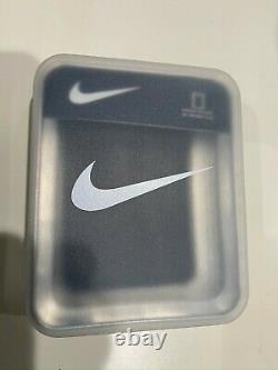 Nike Pebble Leather Wallet Magnetic Closure NIB brand logo accent SOLD OUT