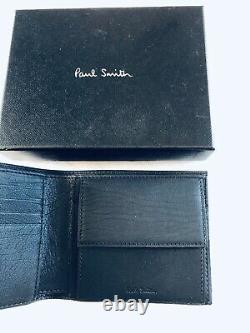 Paul Smith Men Wallet Bfold Coin Multi Made In Italy Summer Sale Limited Stock