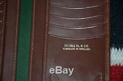 Ralph Lauren RRL Handmade in England Saddle Bridle Leather Chest Wallet