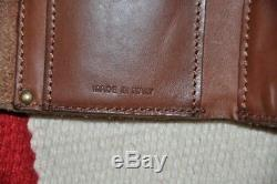 Ralph Lauren RRL Made in Italy Engraved Leather Chain Biker Wallet
