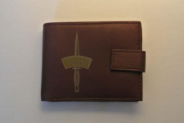 Royal Marines Commando Men's Genuine Leather Wallet Complete With Gift Box