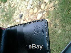 The FLAT HEAD LEATHER WALLET