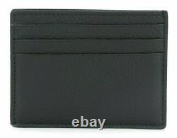 Tom Ford Grained Leather Open Side Credit Card Black Wallet Y0233T-CP9